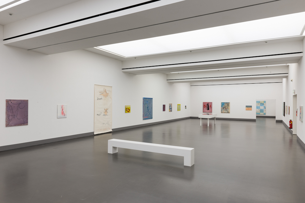 Walter Swennen, Installation view: Walter Swennen – Ein perfektes Alibi, Kunstverein für die Rheinlande und Westfalen, Düsseldorf