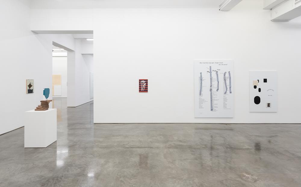 Richard Aldrich, Installation view
