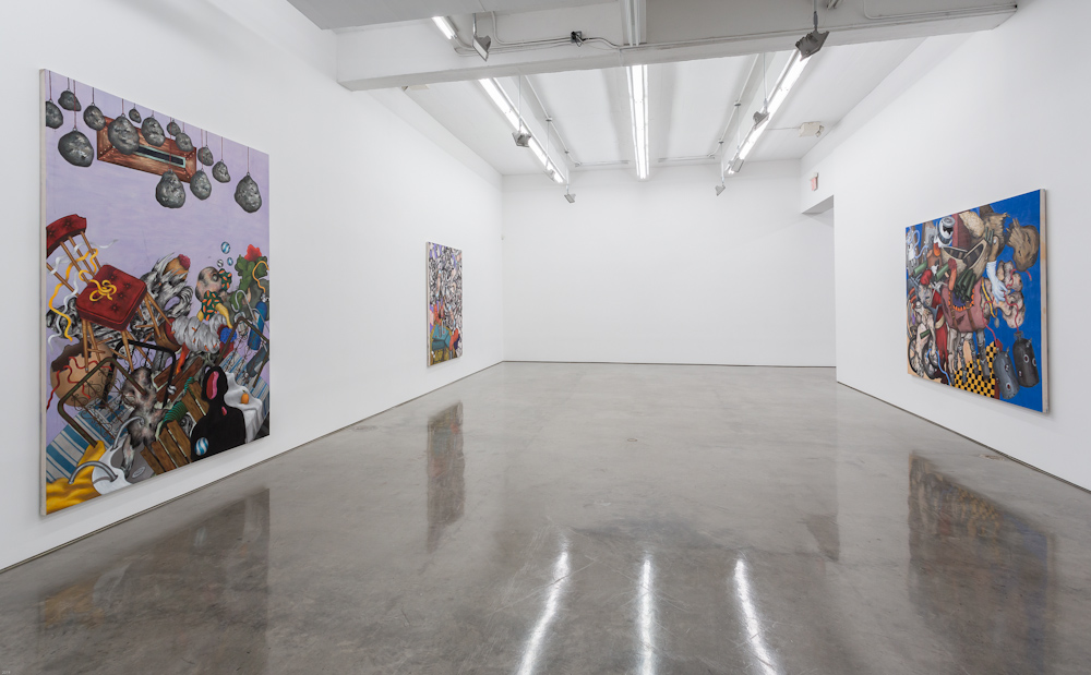 Ahmed Alsoudani, Installation view