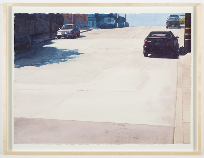 Robert Bechtle, Six Cars on 20th Street