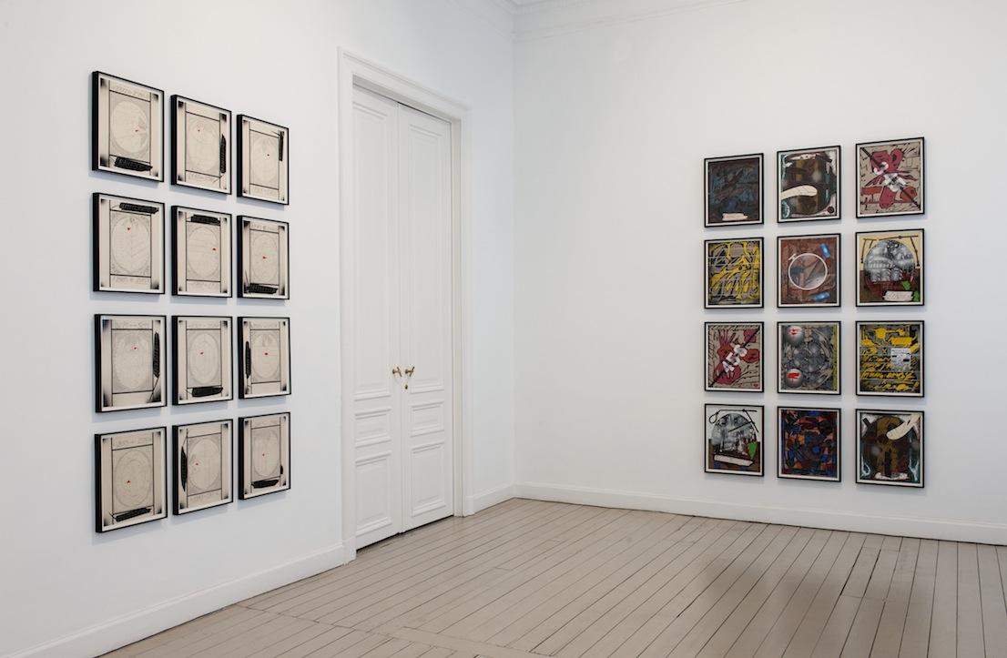 Lari Pittman, Installation View