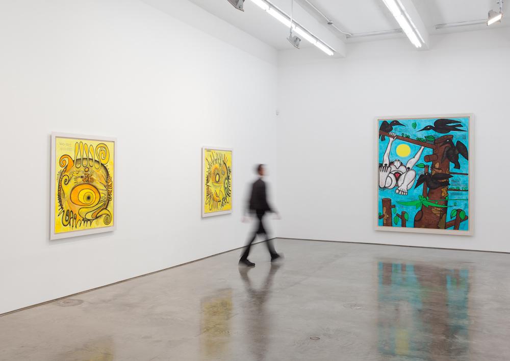 Carroll Dunham, Installation view