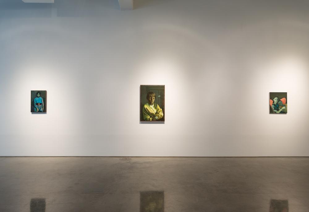 Victor Man, Installation view