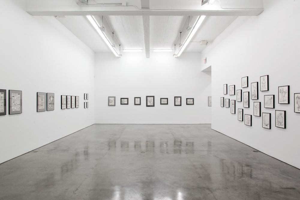 Basil Wolverton, Installation View