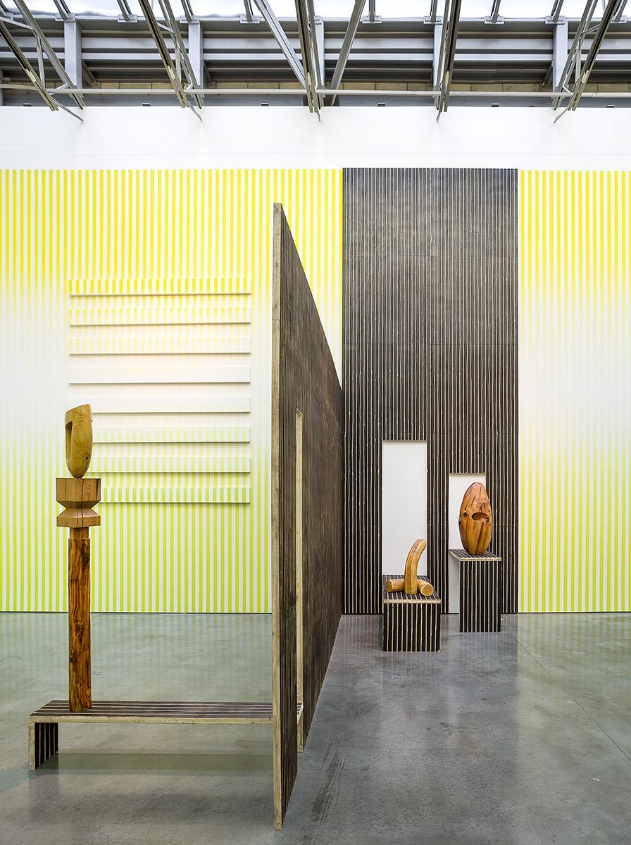 Claudia Comte, Installation view