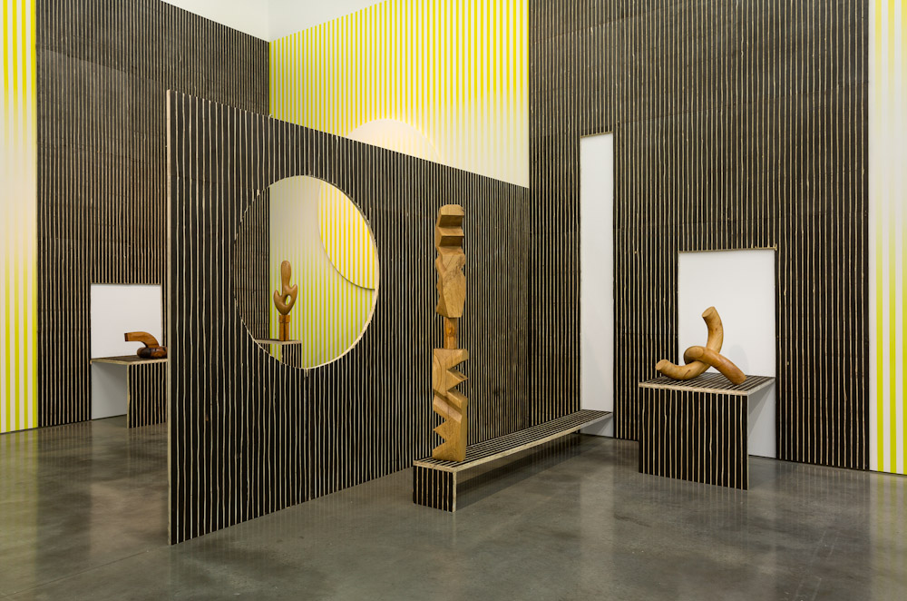 Claudia Comte, Installation view