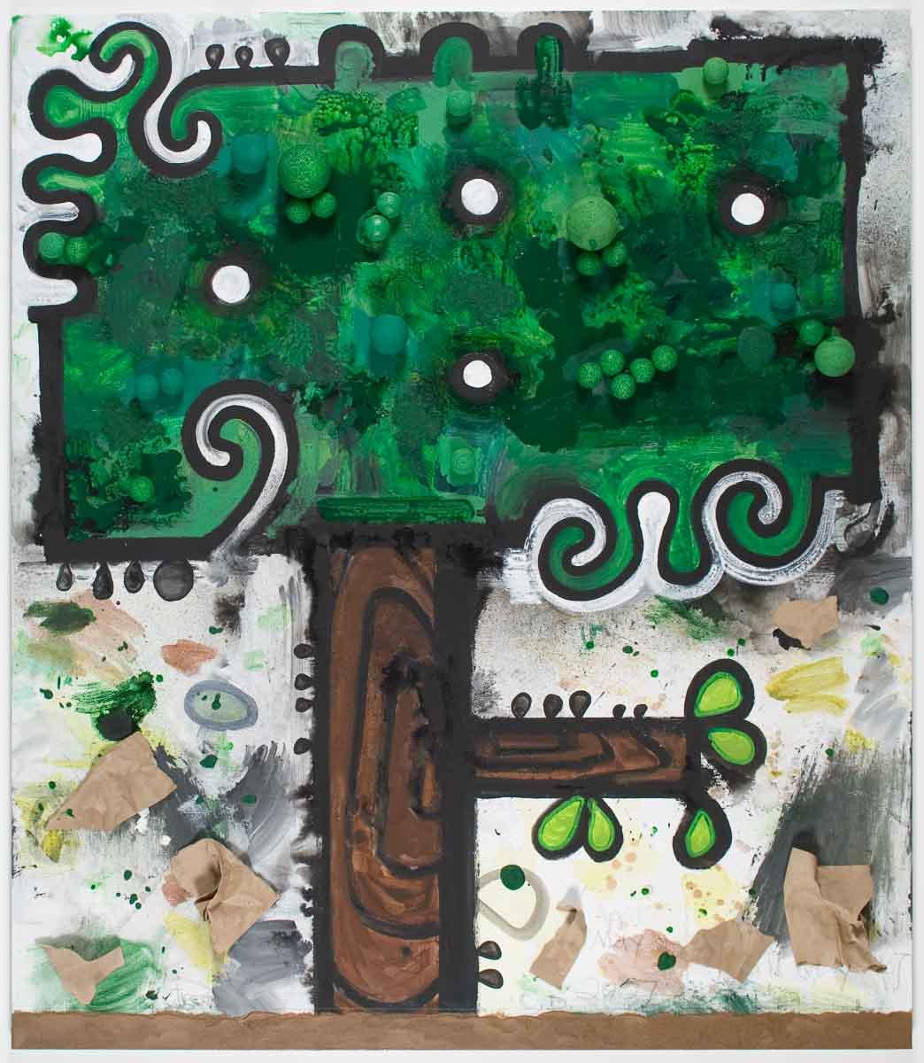 Carroll Dunham, Tree (A)