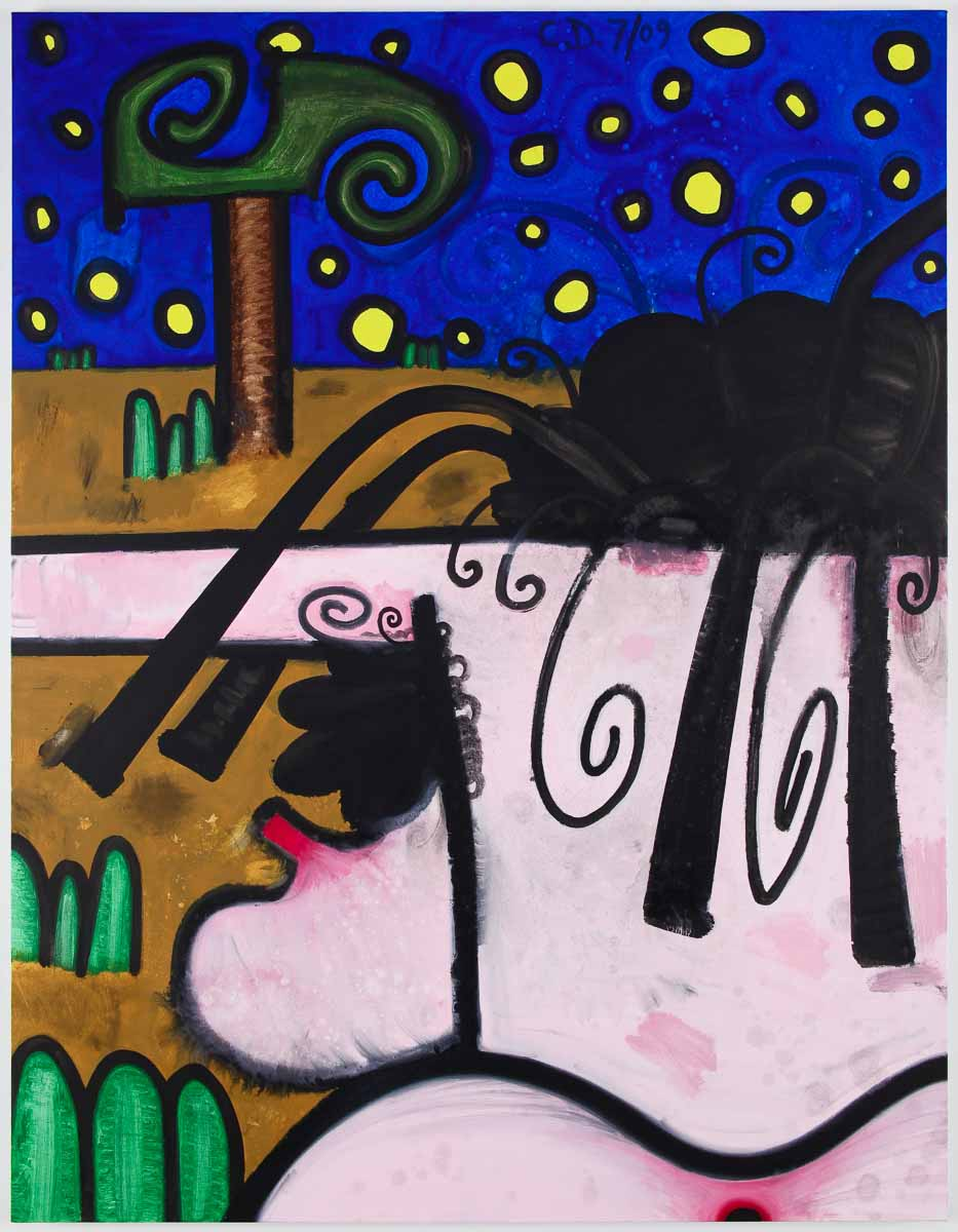 Carroll Dunham, (Hers) Night and Day #6