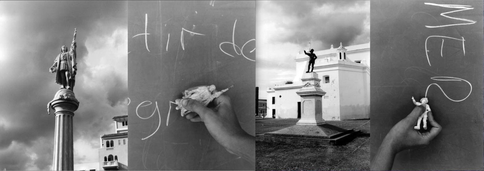 Allora & Calzadilla, Chalk Monuments