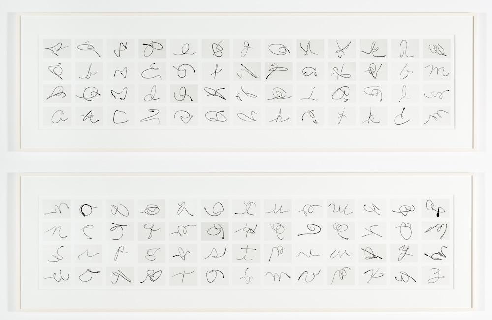 Damián Ortega, Calligraphy