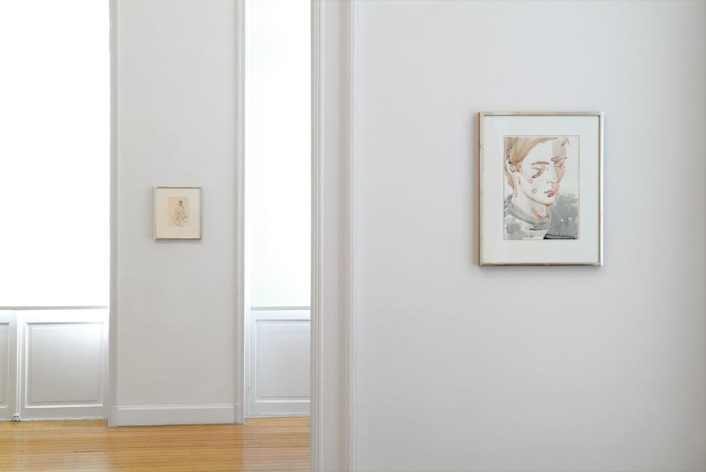 Elizabeth Peyton, Installation View