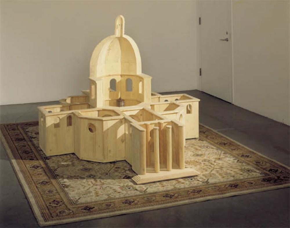 Huang Yong Ping, (543 - 622): Model of Project for the Chapelle St. Louis Salpétrière for le Festival d'Automne in Paris 2000