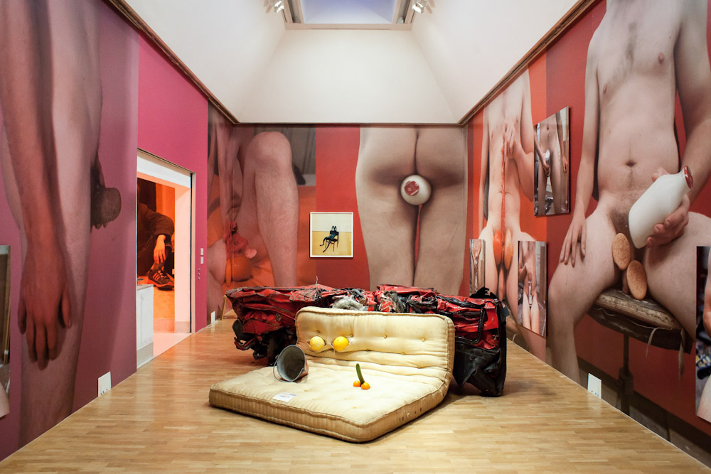 Sarah Lucas, SITUATION Absolute Beach Man Rubble at Whitechapel Gallery, London