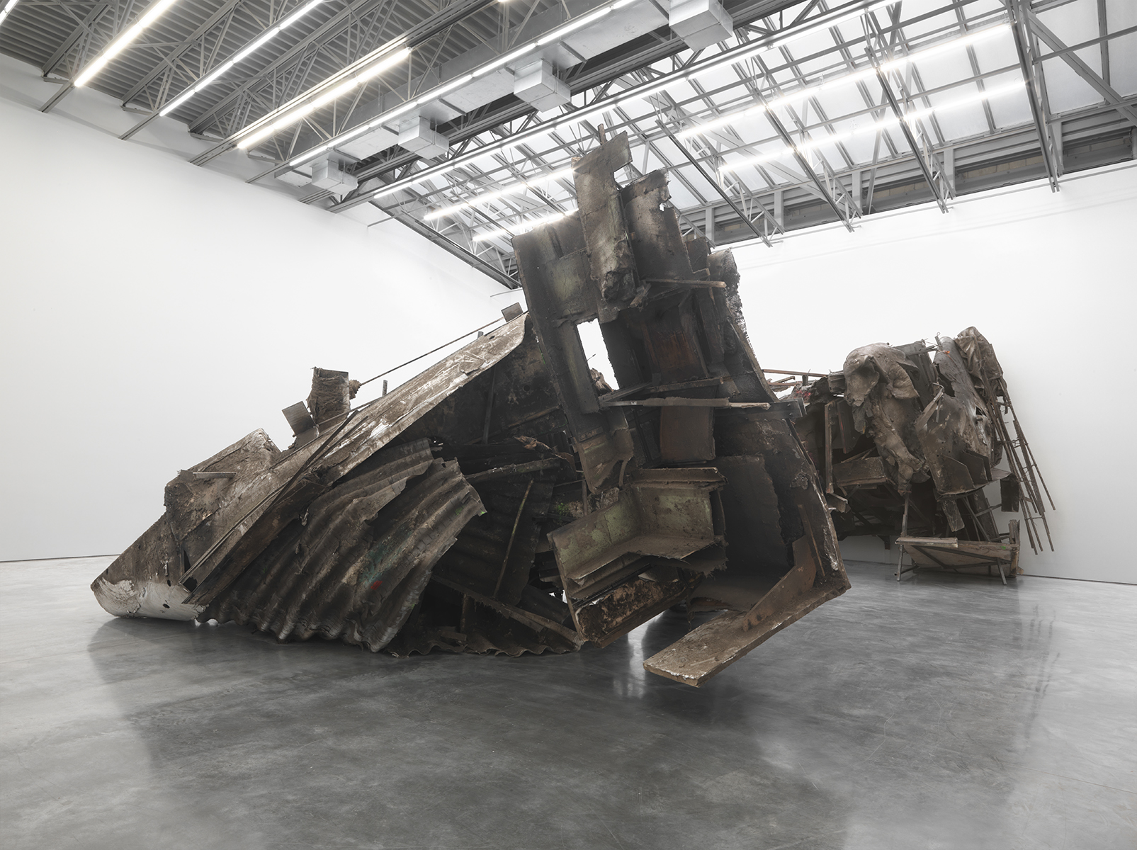Peter Buggenhout, Installation view
