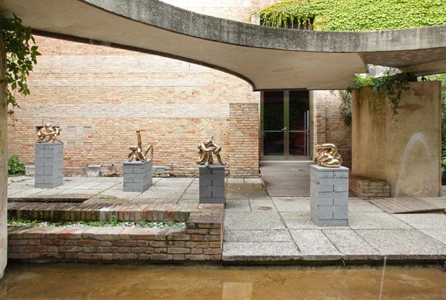 Sarah Lucas, Venice Biennale Installation View