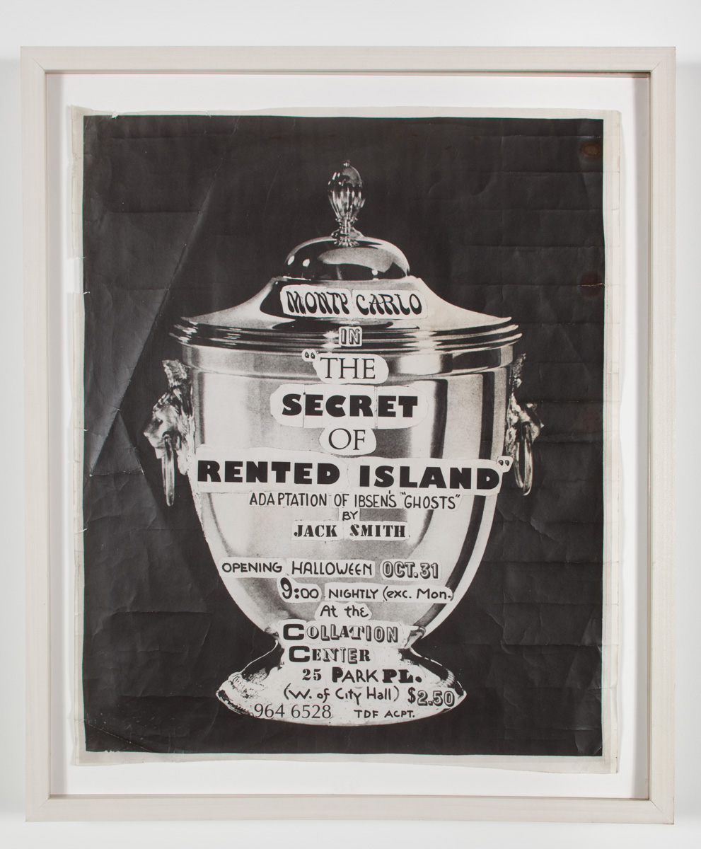 Jack Smith Archive, Poster for