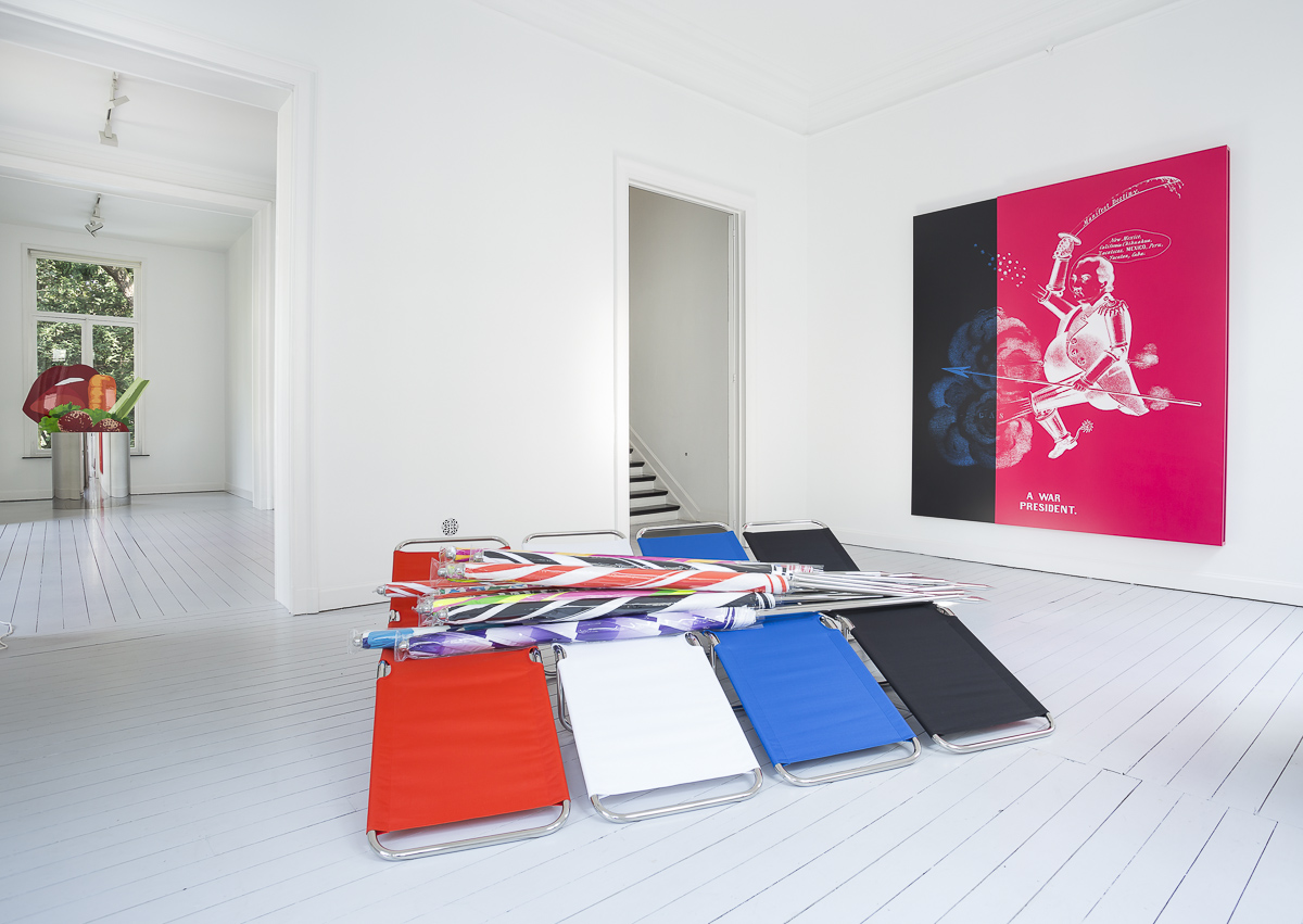 Kathryn Andrews, Installation view