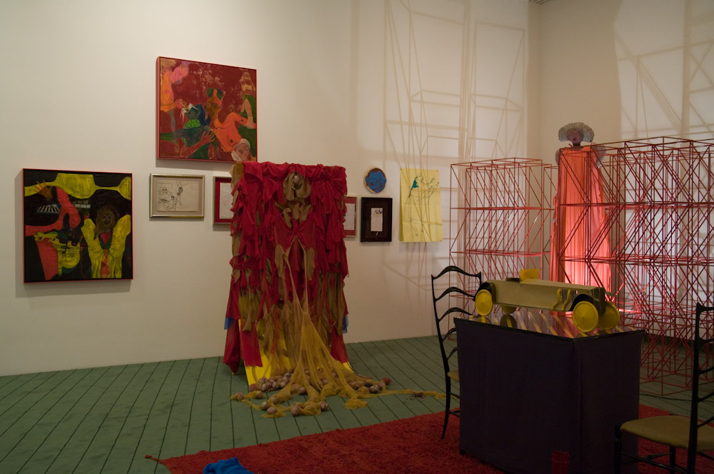 Kai Althoff and Nick Z, Installation View