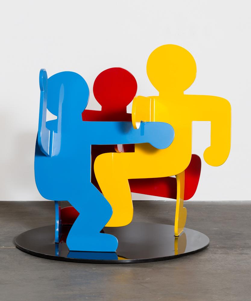 Keith Haring, Three Dancing Figures (Version C)
