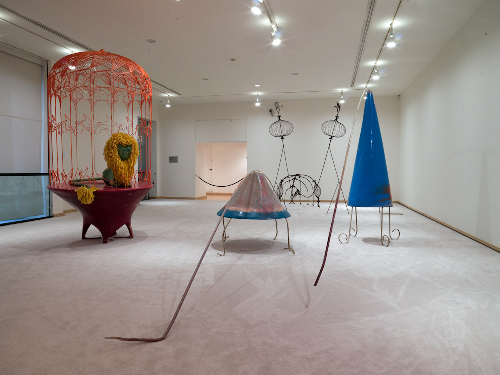 Kai Althoff, Installation View: Vancouver Art Gallery