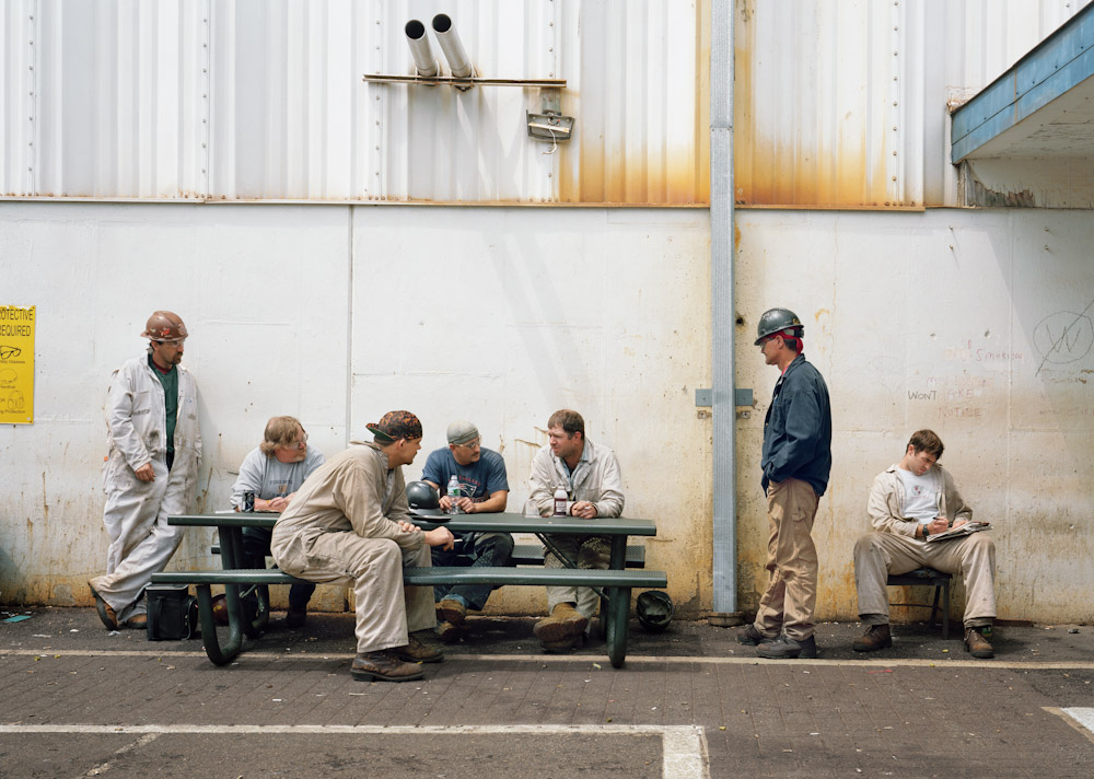 Sharon Lockhart, Outside AB Tool Crib: Matt, Mike, Carey, Steven, John, Mel and Karl