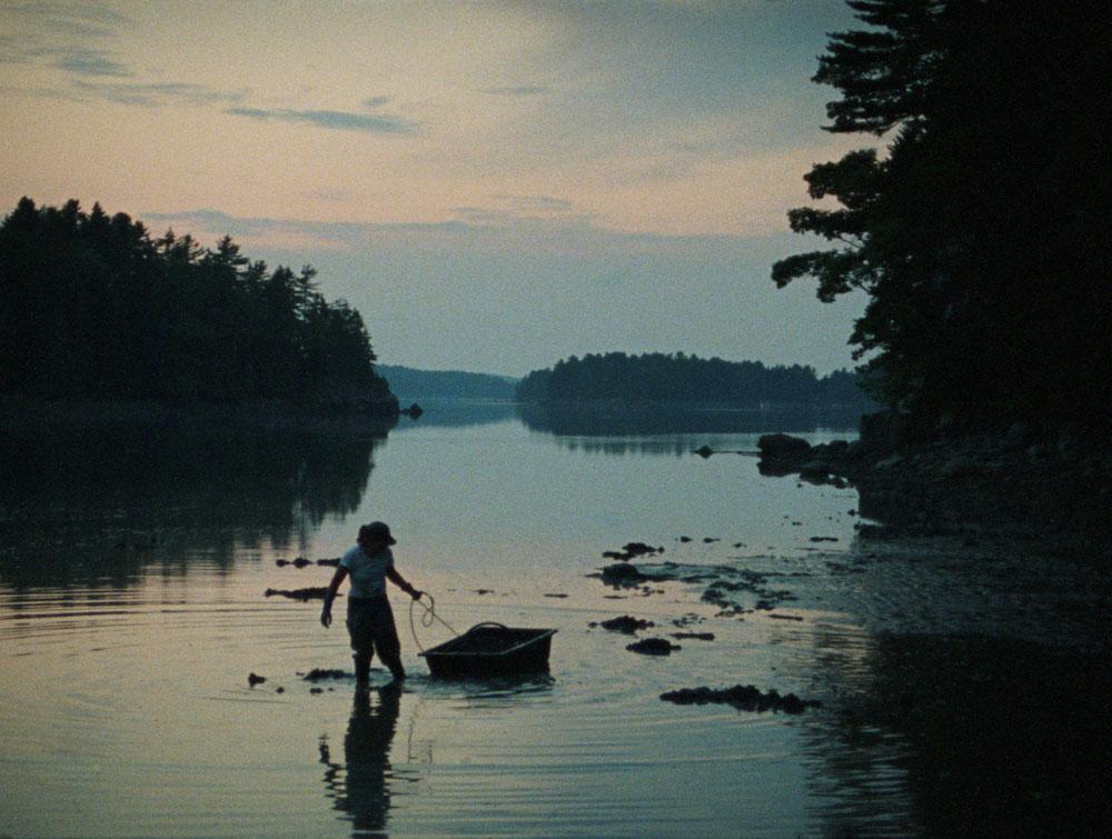 Sharon Lockhart, Double Tide (Jen Casad, South Bristol, Maine, July 22, 2008, Sunset)