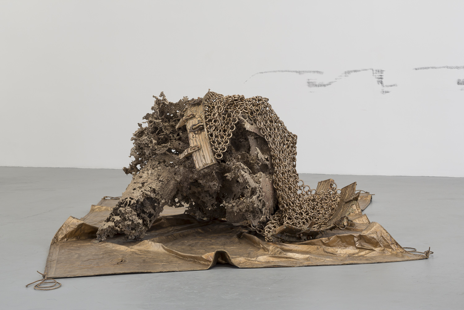 Matthew Barney, Dredge and Water Cast 1