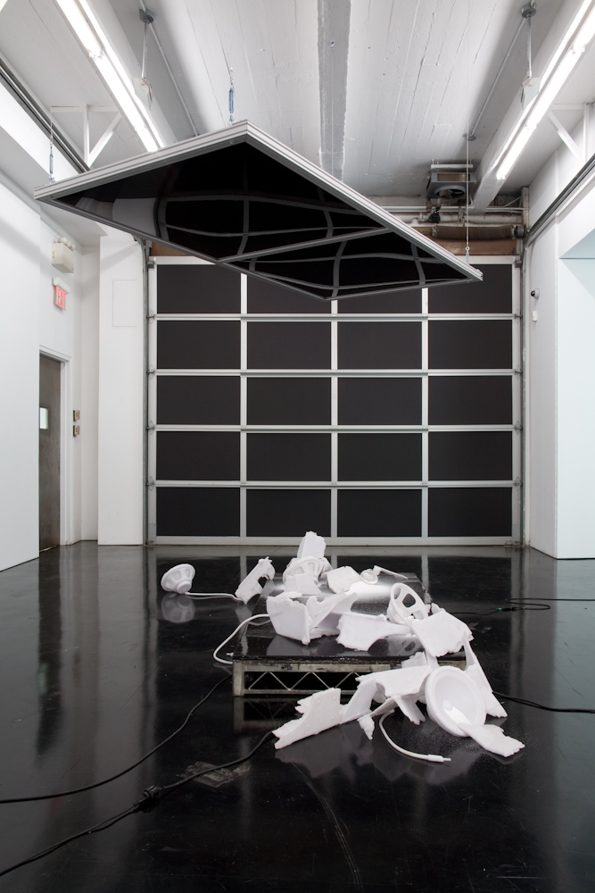 Banks Violette, Not yet titled (Stage with Dropped Ceiling, version with salt casts)