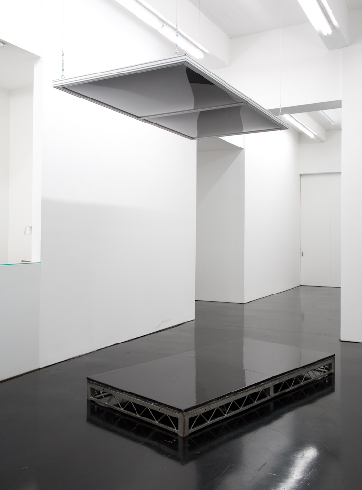 Banks Violette, Not yet titled (Stage with Dropped Ceiling, blank version)