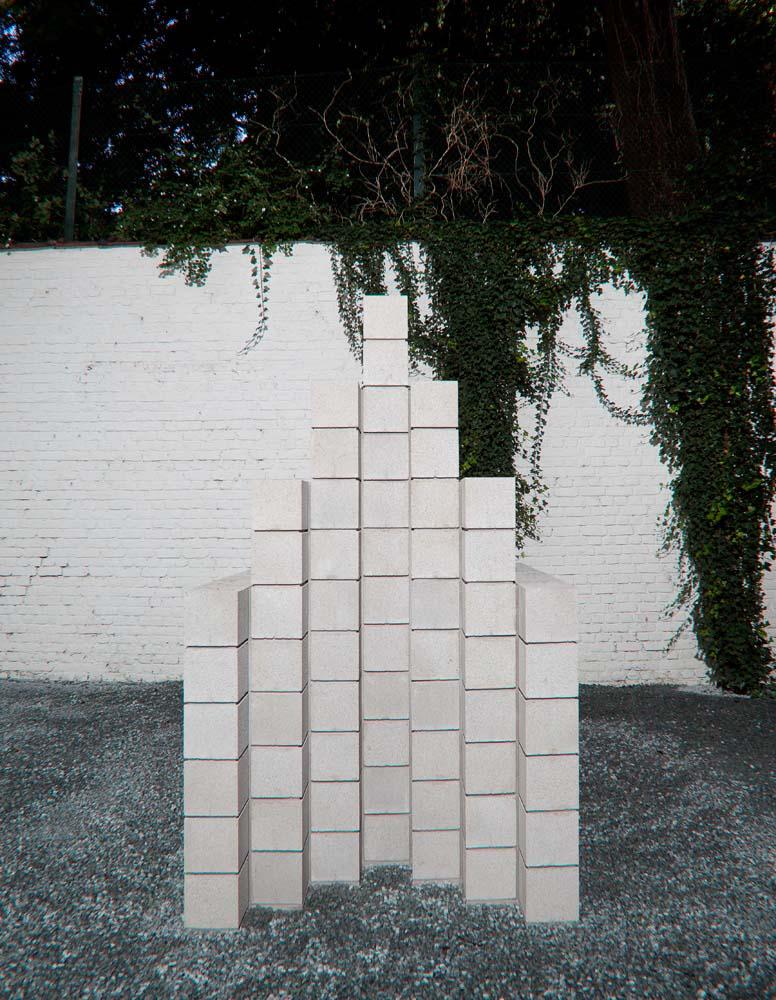 Sol Lewitt, Concrete Block Structure