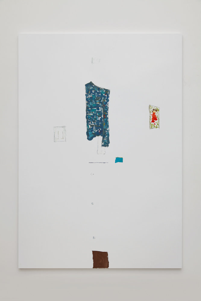 Richard Aldrich, Reality Painting #6 (A Wall in My Bedroom)