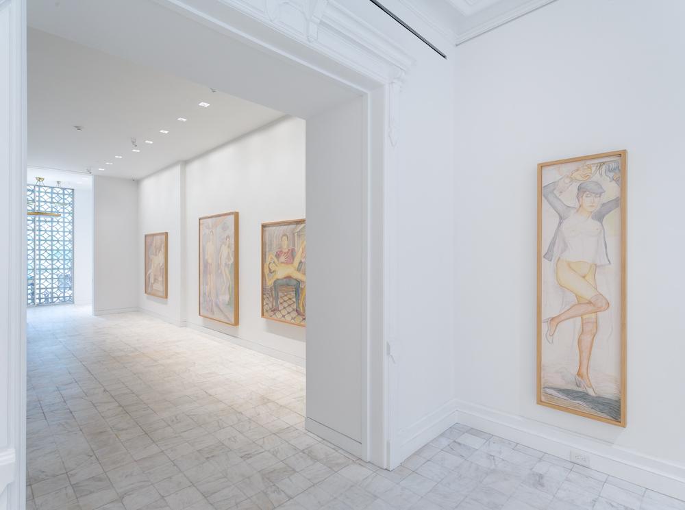 Pierre Klossowski, Installation view
