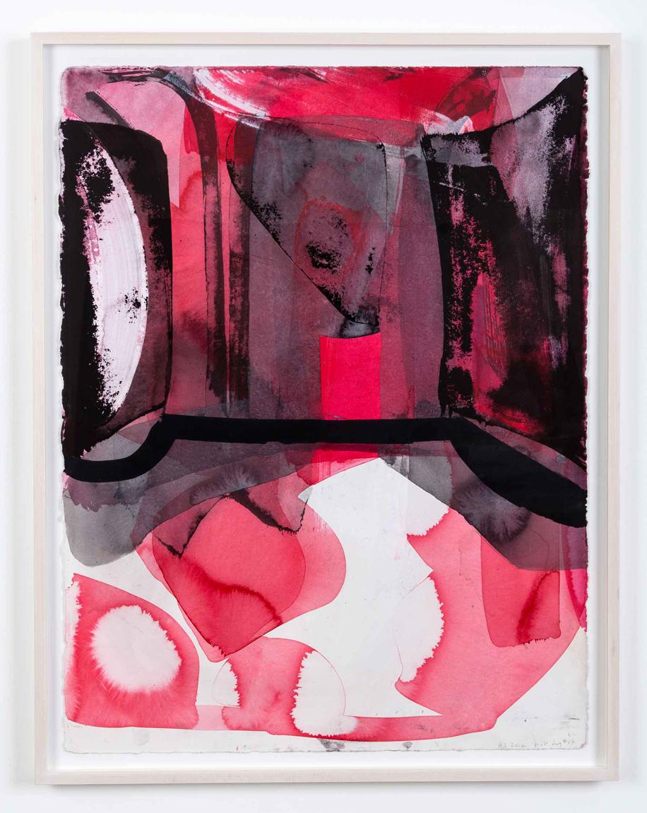 Amy Sillman, Pink Drawing #37