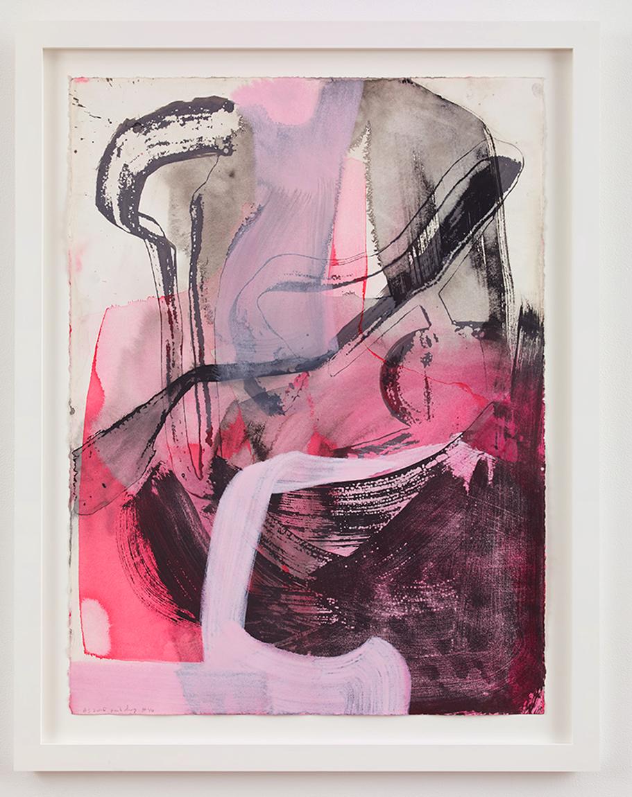 Amy Sillman, Pink Drawing #40