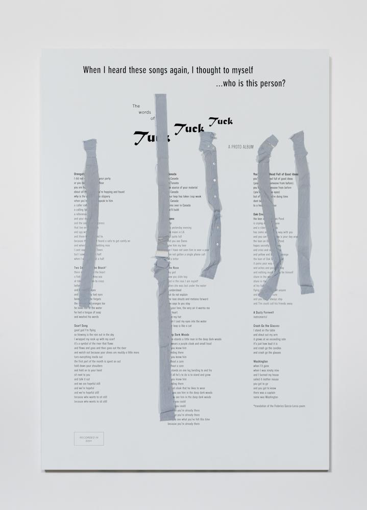 Richard Aldrich, The Pin Stripes of Tuck Tuck Tuck