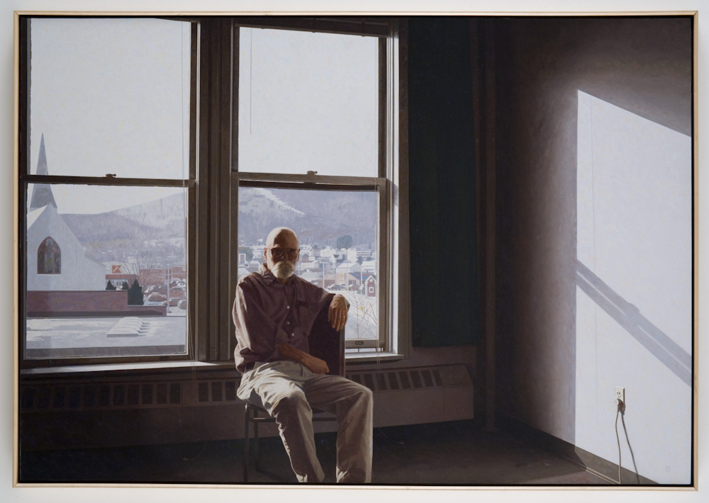 Robert Bechtle, View of North Adams