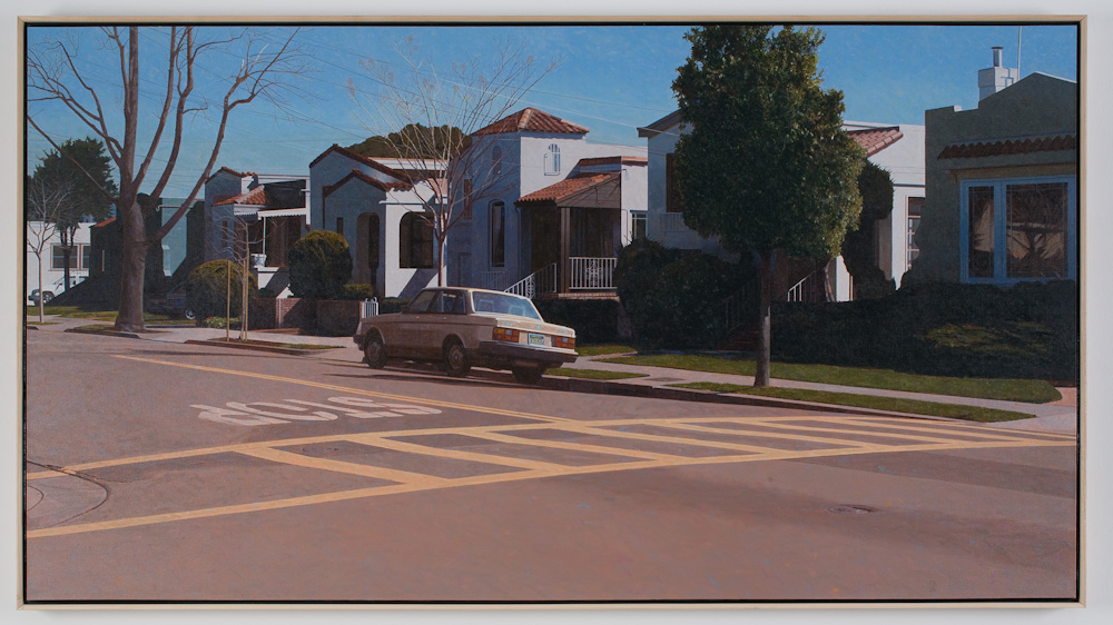 Robert Bechtle, Six Houses on Mound Street