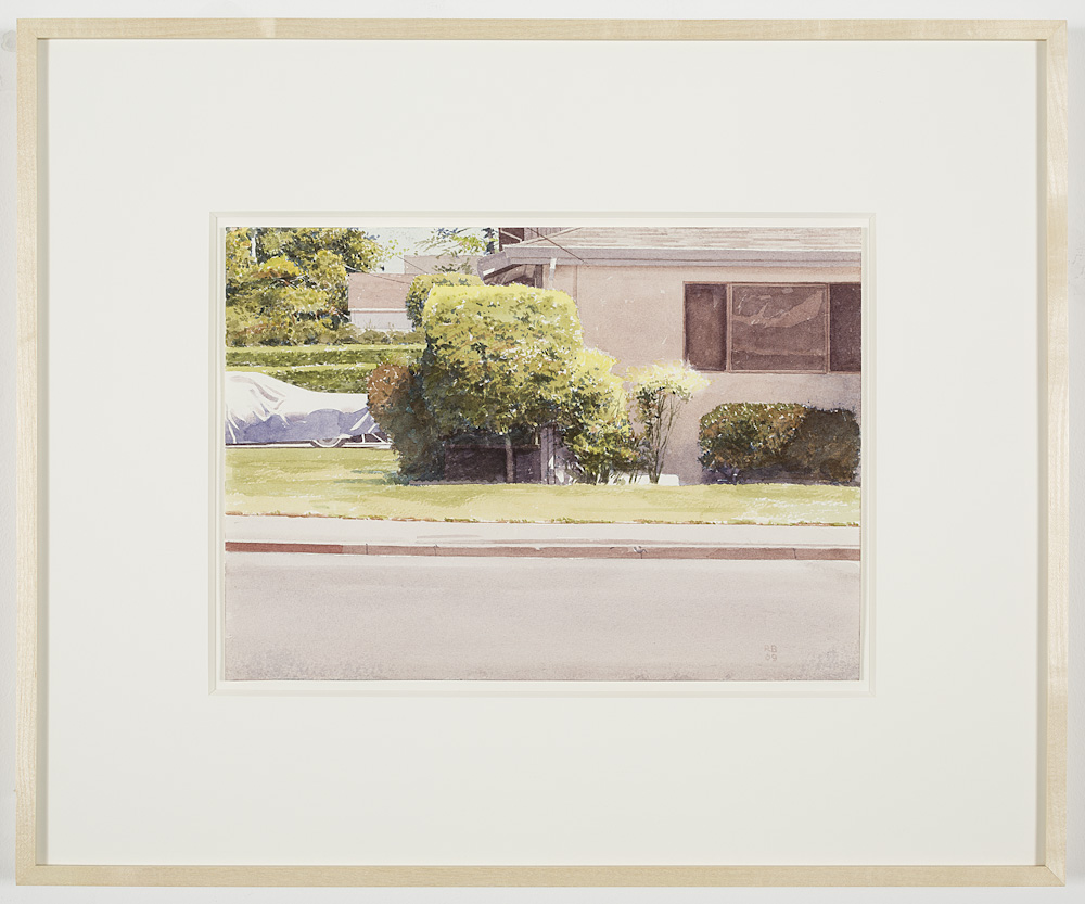 Robert Bechtle, Covered Car - Alameda