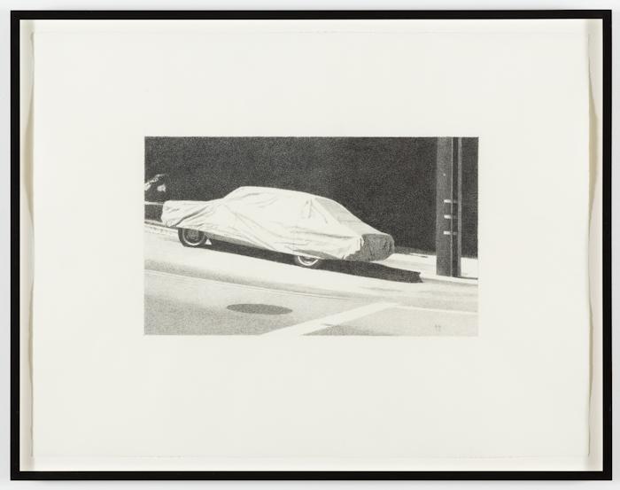 Robert Bechtle, Covered Car Deharo Street II