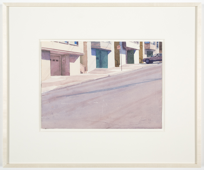 Robert Bechtle, Houses on Twentieth Street