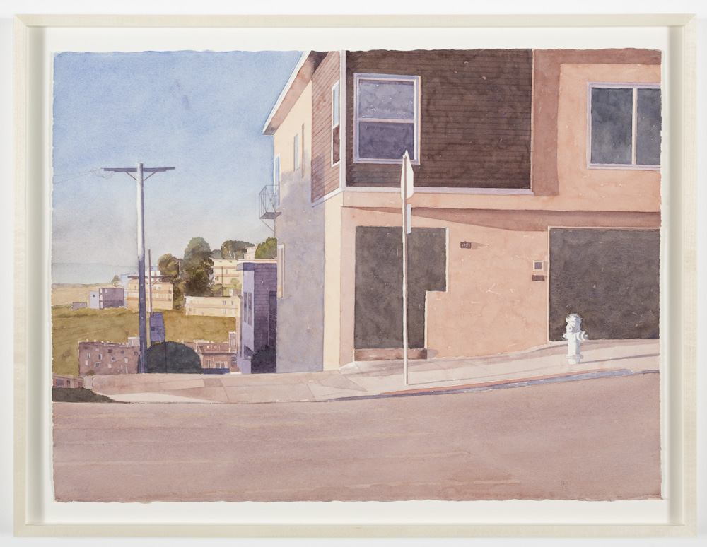 Robert Bechtle, Texas Street, South Looking