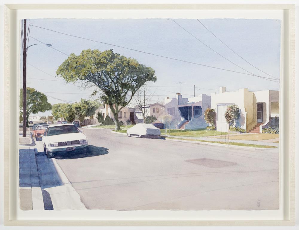 Robert Bechtle, Clay Street, Alameda