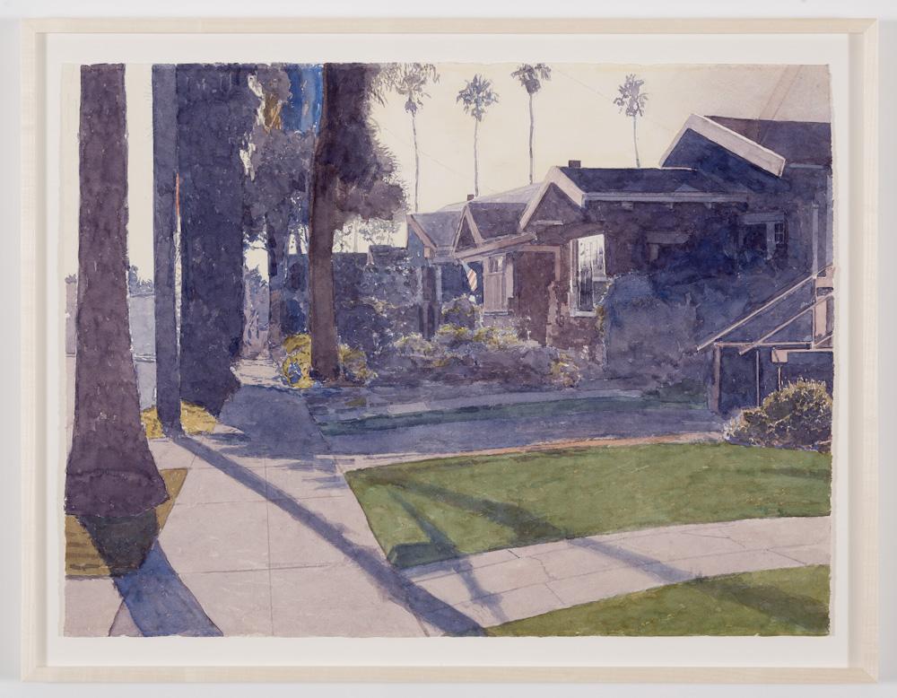 Robert Bechtle, Burbank Street Alameda