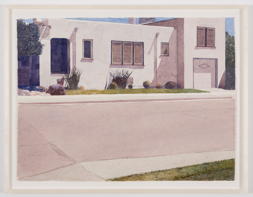 Robert Bechtle, House on Washington Street Alameda,