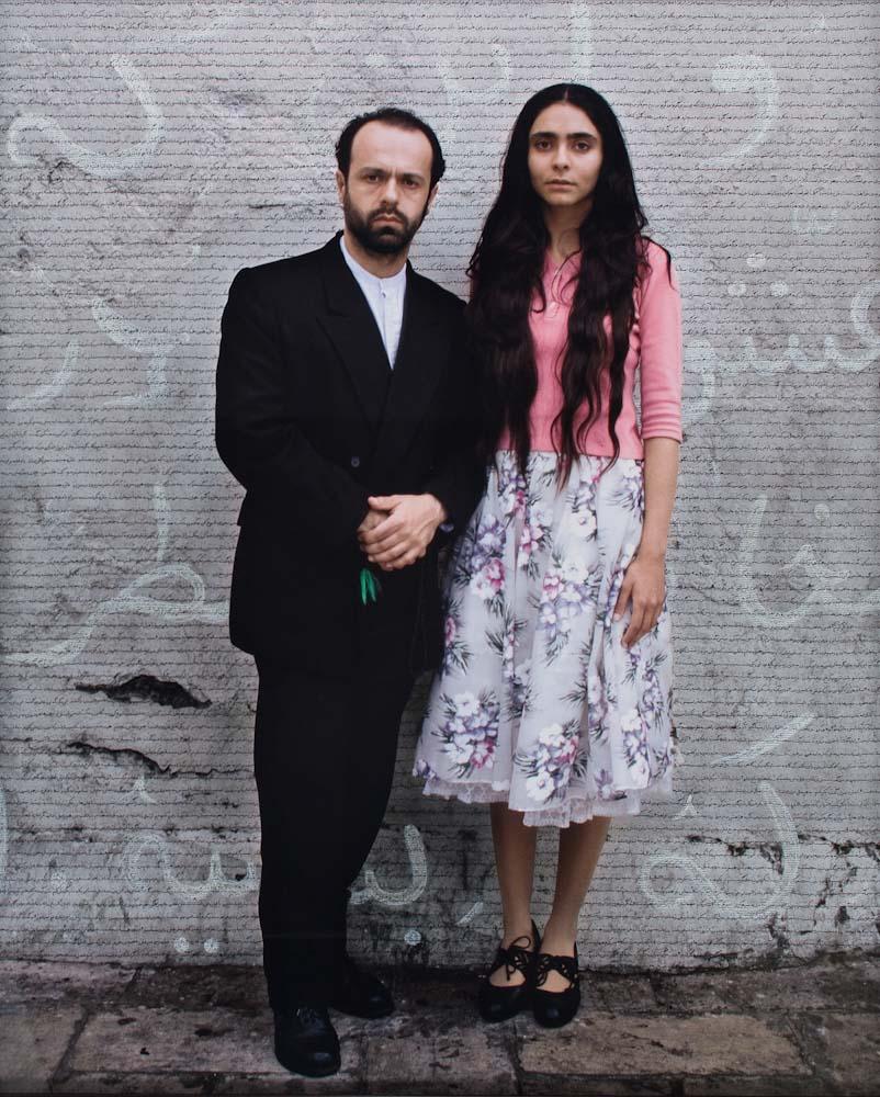 Shirin Neshat, Faezeh & Amir Kahn