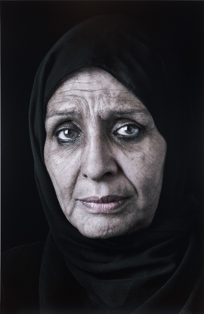 Shirin Neshat, Ghada, from Our House Is on Fire series