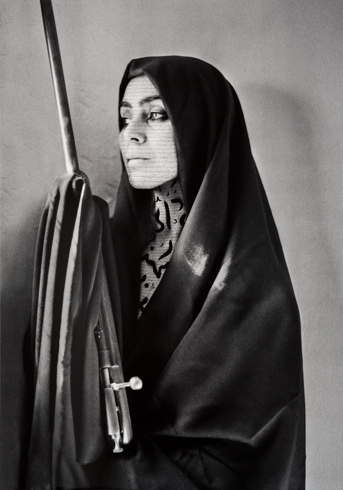 Shirin Neshat, Untitled (from Women of Allah Series)