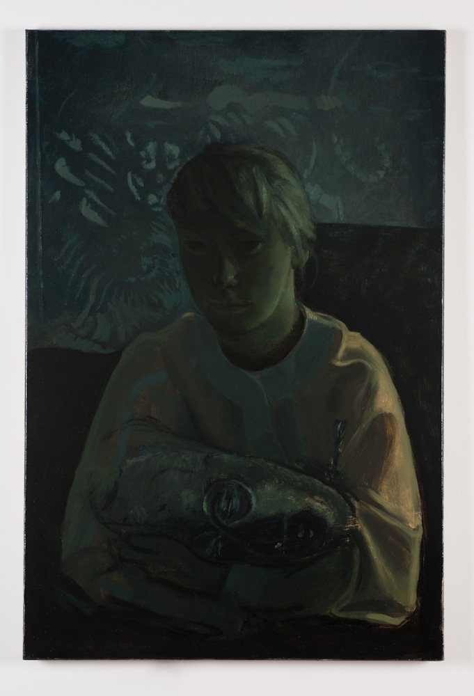 Victor Man, Untitled (S.D. as Judith and Holofernes)