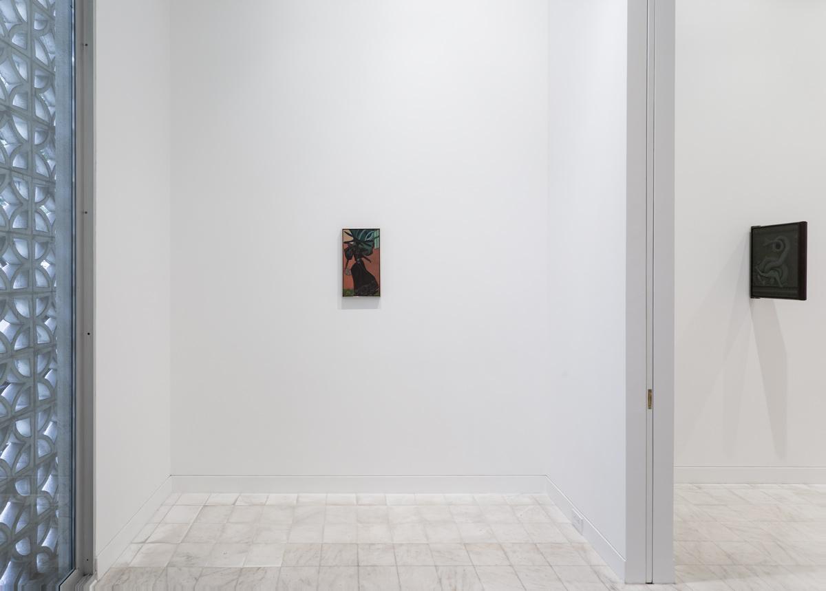Victor Man: Flowering Ego, Installation