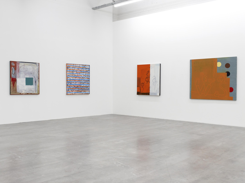 Walter Swennen, Installation View: